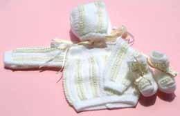 Puntobebé: prendas de punto artesanales para el bebé