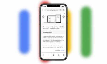 Cómo borrar automáticamente y desde el móvil el historial de actividad de tu cuenta de Google