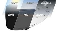 Shoei transitions, la pantalla definitiva para el casco