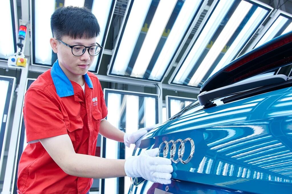 Audi utilizará su plataforma premium de coches eléctricos creada con Porsche para dar un salto de calidad en China