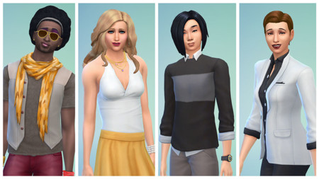 Sims 4 Sin Genero