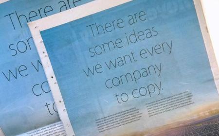 Apple se burla de Samsung: Hay algunas ideas que queremos que todas las compañías copien