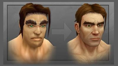 Blizzard rediseña al humano en World of Warcraft