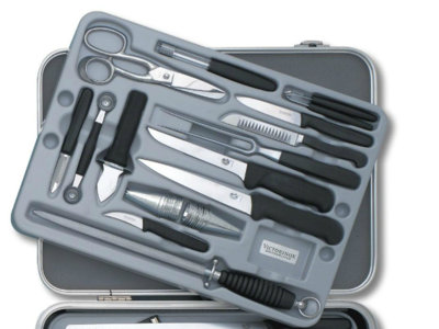 Renovando los cuchillos de cocina en Cazando gangas