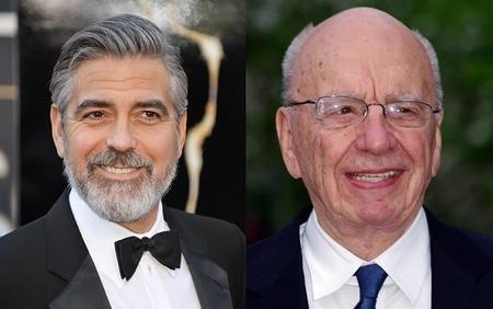 George Clooney nos hablará de las escuchas telefónicas de Rupert Murdoch en 'Hack Attack'