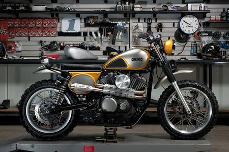 Directa al pasado, así es la Yamaha SCR950 Yard Built de Palhegyi