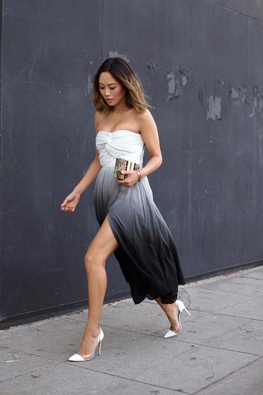 Vestidos midi: una buena opción para la época de bodas