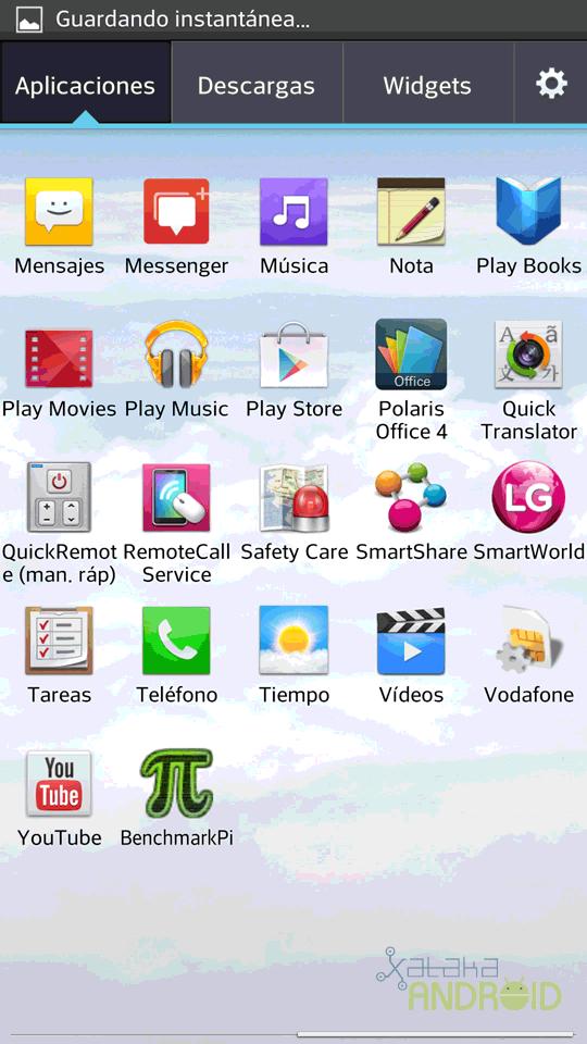 Foto de LG Optimus G Pro, capturas de pantalla (22/26)