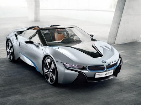 El BMW i8 Roadster queda confirmado para 2018