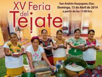 XV Feria del Tejate en San Andrés Huayapam, Oaxaca