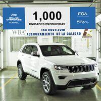 Jeep Grand Cherokee Blindada llega a 1,000 de unidades fabricadas