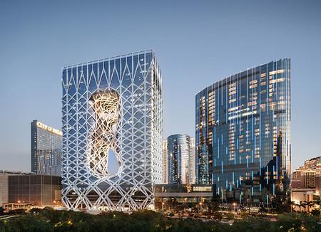 Morpheus, un hotel de formas sorprendentes que lleva la firma de Zaha Hadid
