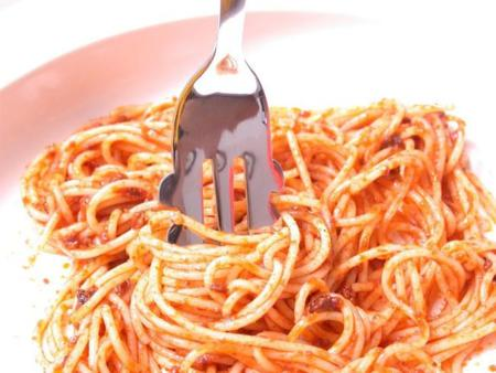 ¡Fantástico! Un tenedor para comer espaguettis
