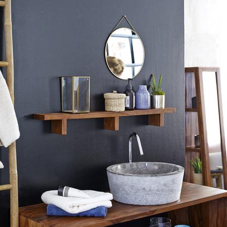 Nueve estanterías por menos de cien euros para organizar el baño y un poco de inspiración para colocarlas