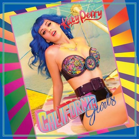 Katy Perry vuelve muy azul con su nuevo single 'California Gurls'