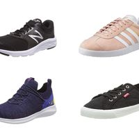 Chollos en tallas sueltas de zapatillas New Balance, Adidas, Skechers y Levi's  en Amazon