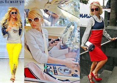 El estilo de Paris Hilton