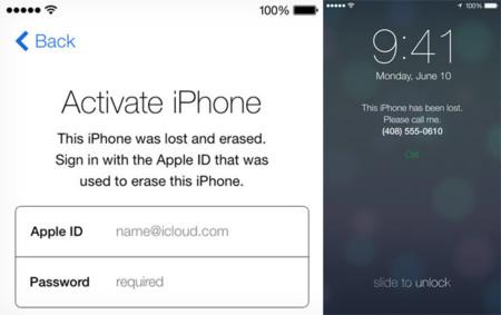 Bloqueo de activación de iOS 7, una característica que ha conseguido reducir los robos de dispositivos iOS