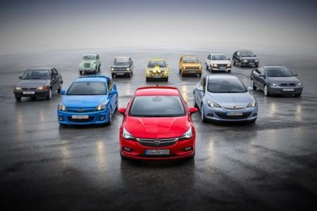Del Opel Kadett 1 al Opel Astra K, un repaso a las once generaciones del compacto alemán