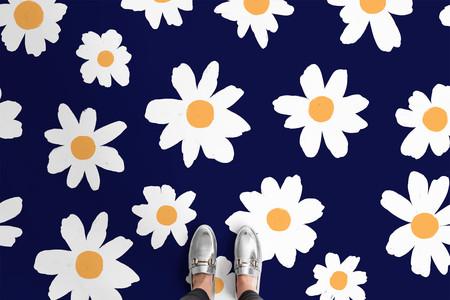Suelos florales a todo color para nostálgicos de los años 90