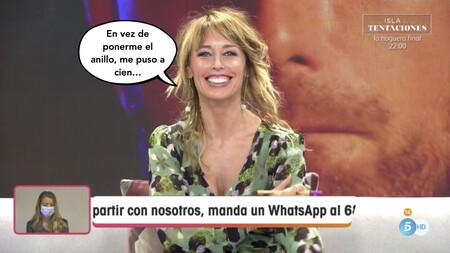 Emma García revela que pidió matrimonio a su marido Aitor en la cama