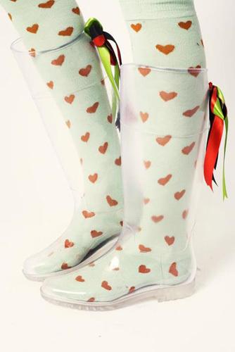 Botas transparentes de Kling para este Otoño 2012