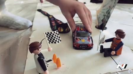 Un circuito del WRC de andar por casa: Hyundai recrea todos los rallys míticos en un solo vídeo