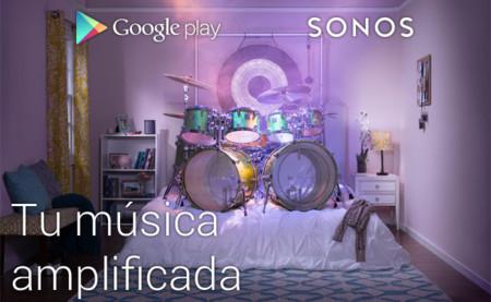 Google Play Music ya permite reproducir nuestra música en los altavoces Sonos