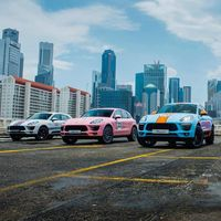 Porsche viste cinco Macan con sus decoraciones de carreras más míticas: Gulf, Martini, Rothmans...