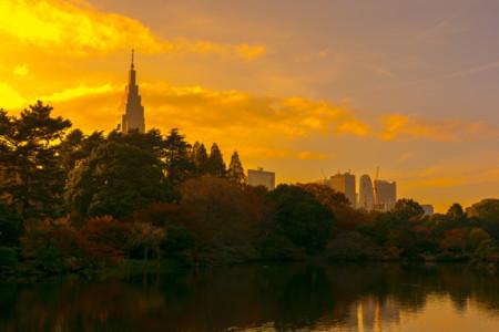 Atardecer Tokyo
