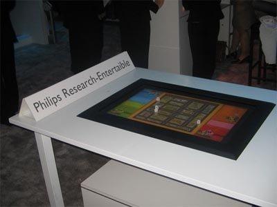 Mesa de juego LCD de Philips