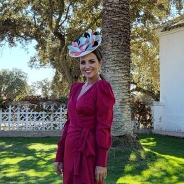 Paula Echevarría se convierte en la invitada perfecta con un look de boda de diez