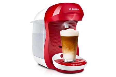 Cafetera En Capsular Bosch Roja