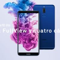 Huawei Mate 10 Lite, con pantalla de 5,9 pulgadas y cuatro cámaras, a su precio más bajo en eBay: 199,99 euros