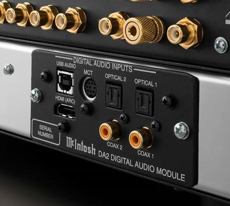 McIntosh pone a la venta su módulo de conexiones y DAC DA2, como una opción de mejora para sus amplificadores