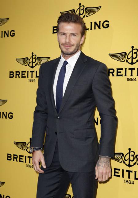David Beckham visita Madrid fugazmente y le da tiempo de inaugurar una tienda, hacer turismo e irse de fiesta