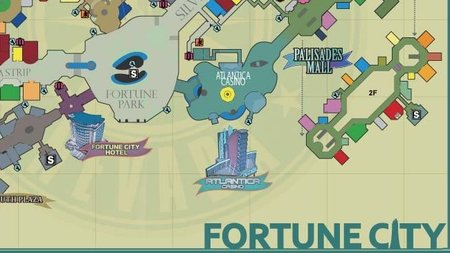 'Dead Rising 2'. Mapa entero de Fortune City