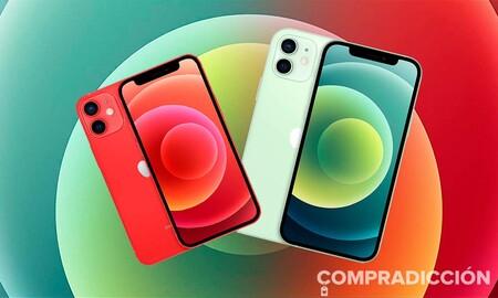 Los iPhone 12 y 12 Mini de 256 GB son un chollo en ahora en Amazon: ahorra 190 y 170 euros si los eliges en verde o en rojo