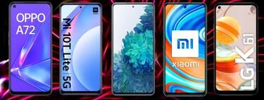 Las mejores ofertas en móviles baratos a plazos con Movistar, Vodafone, Orange y Yoigo
