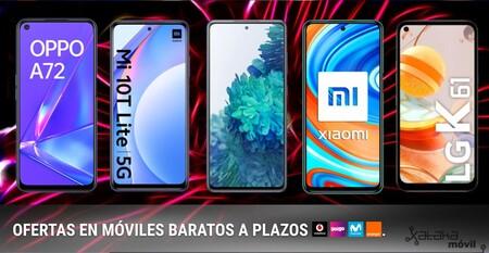 Moviles Baratos A Plazos Con Movistar Vodafone Orange Y Yoigo En Marzo De 2021