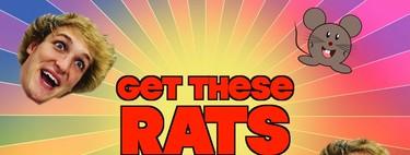 Logan Paul electrocuta a una rata y Youtube, por primera vez en su historia, le corta el grifo a un canal