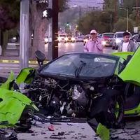Dolorpasión™ es dejar así tu nuevo McLaren 650S Spider verde mientras corrías por las calles de Los Ángeles