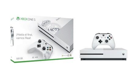 Cyber Monday también para merengues: Xbox One S, en Edición Limitada del Real Madrid, por 179,99 euros