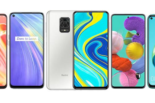 Xiaomi Redmi Note 9 y Xiaomi Redmi Note 9 Pro, comparativa: así quedan frente a Realme 6, Samsung Galaxy A51, OPPO A91 y resto de gama media