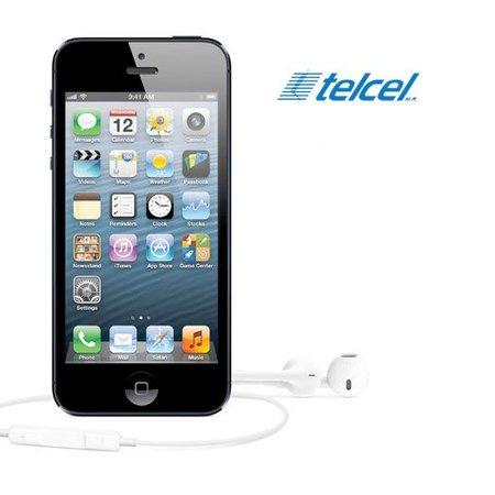 iPhone 5 en México, precios con Telcel