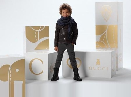 Looks 'Gucci Kids' de la primera Colección Otoño/Invierno 2011-2012 para niños