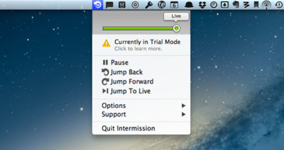 Intermission, controla todo el audio en streaming que se reproduzca en tu Mac