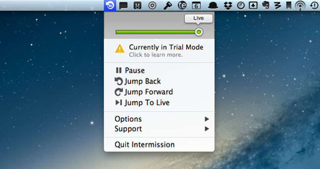 Intermission para Mac de Rogue Amoeba