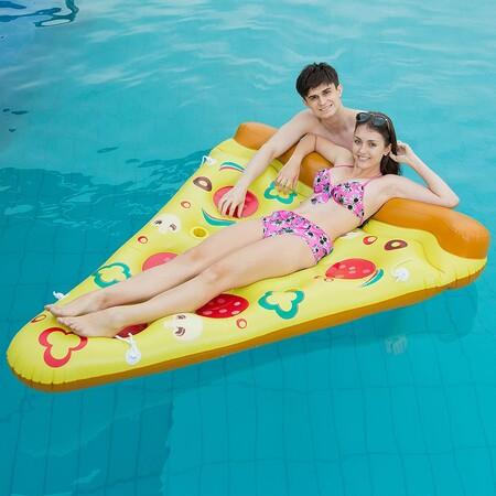Hinchable pizza
