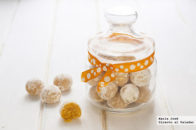 Dulces de mandarina. Receta griega para San Valentín